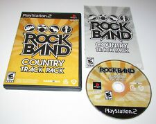 Rock Band: Country Track Pack for Playstation 2 Complete Fast Shipping!
