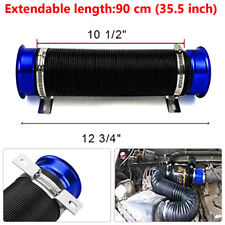 Washable Car Blue Turbo Multi Flexible Air Intake Pipe Tube Intake Inlet Hose