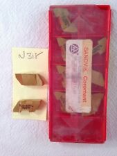 9  NEW SANDVIK TLG-4250L  TOP NOTCH CARBIDE INSERTS. GRADE:  225G/P25TN.  {N318}