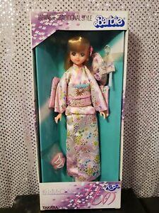 JAPANESE KIMONO TAKARA BARBIE DOLL 1985 JAPAN NRFB