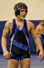 Male Athletic Muscular Athlete Amateur Wrestling Wrestler Jock PHOTO 4X6 C126