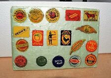 Collection of Antique Tobacco Tags Nice!