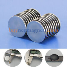 10pcs 20mm X 1mm N42 Neodymium Strong Magnet Round Cylinder Rare Earth magnets