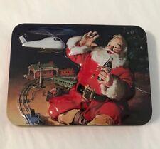 Coca Cola Nostagia Santa Christmas Sealed Playing Card Decks & Collector Tin