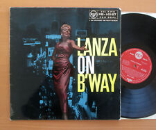 RB 16167 Lanza On Broadway Mario Lanza RCA ED1 Mono EX/VG