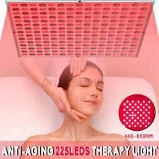 225 Led Light Therapy Panel Lamp Bulb Skin Care Anti-Aging for Skin Rejuvenation