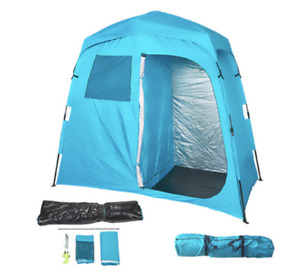 Deluxe Ensuite Double Automatic Two Room Shower Tent Camp Caravan Boat 4wd UTE