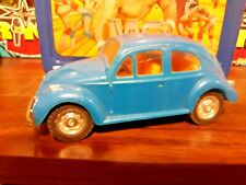 Vintage vw Playart Beetle blue Plastic hong kong