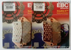 EBC Sintered FRONT Brake Pads for TRIUMPH TIGER 800 (2011 to 2020) TO VIN 855531