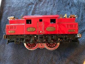 IVES 3242 Standard Track Electric Locomotive Lionel Train Super Motor NY Central