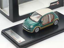 New 1:43 Premium Classixxs Fiat 500 Castagna EV Kadhafi concept car megayacht