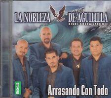 La Nobleza De Aguililla Arrasando Con Todo CD New