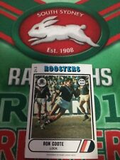 1976 Scanlens Rugby League Card No 101 Ron Coote Eastern Suburbs