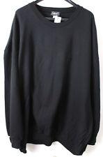 Herren  Sweatshirt Men Plus Schwarz  Gr.  72/74   6XL     NEU
