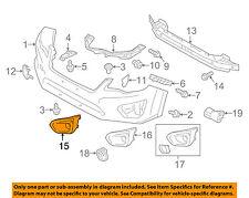 SUBARU OEM 12-14 Impreza Front Bumper-Bezel Left 57731FJ010