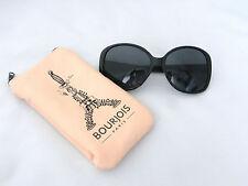 Bourjois Paris Damen Sonnenbrille Brille neu ovp mit weichem Etui schwarz
