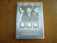 dvd antitrust avec ryan phillippe, rachael leigh cook, claire forlani