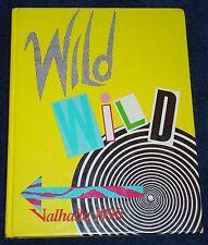 1990 Valhalla PARKER High School JANESVILLE WI YEARBOOK/Annual Wild Wild West
