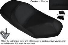 BLACK STITCH CUSTOM FITS SYM JOYRIDE 125 200 EVO DUAL LEATHER SEAT COVER ONLY