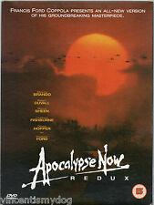 Apocalypse Now Redux (DVD, 2002) original issue in gorgeous card sleeve & prints