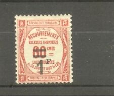 "FRANCE STAMP TIMBRE TAXE N° 53 "" 1F SUR 60c ROUGE "" NEUF xx TTB"