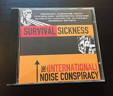 The International Noise Conspiracy - Survival Sickness CD. Punk, Refused, Garage