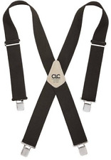 CLC Custom Leathercraft 110BLK Heavy Duty Work Suspenders, Black