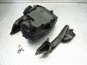 2009 07-13 Ducati 1198 1198S Superbike OEM Airbox Air Box Throttle Bodies Ducts