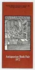 Philip LARKIN / Antiquarian Book Fair 1972 First Edition