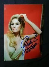 FOTO CON AUTOGRAFO BOND GIRL 007 URSULA ANDRESS ATTRICE CINEMA CULT AUTOGRAMM TV