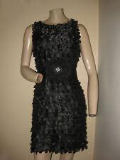 B. Darlin Black Ruffled Sleeveless Cocktail Party Formal Mini Dress XXS/XS 1/2