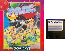 """PANG : floppy disc 3,5"""" Commodore Amiga backup game disk (READ)"""