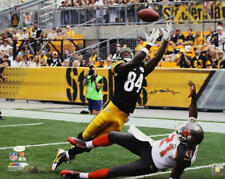 Antonio Brown Autographed/Signed Pittsburgh Steelers 16x20 Photo JSA 22346