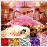 1000X Lot Silk Rose Flower Petals Leaves Bridal Wedding Party Table Decoration