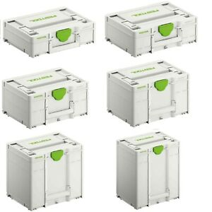 Festool Systainer³ SYS3 Werkzeugkoffer T-Loc Systainer Neues Modell M112 - M437