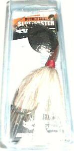 Buchertail Sloppmaster Series Musky/Pike Bucktail Spinner (Natural/Nickel)