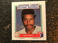 Dave Winfield Yankees 1988 Kenner Starting Lineup Talking Baseball CARD ONLY