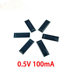 10Pcs/0.5V 100mA 53X18X2.5m Micro Mini Small Power Solar Cells Panel For DIY Toy