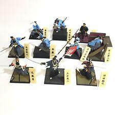 Shinsengumi Ikedaya-soudou Samurai Mini Figure 11pcs Set Furuta Japan B