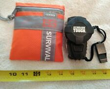 New Gerber Bear Grylls Survival Kit & Schrade Tough Multitool Knife Compass
