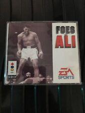 Foes Of Ali 3DO Game Uk CiB Double Jewel Case