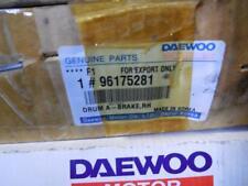 NEW OEM FACTORY DAEWOO Rear Brake Drum SHIPS TODAY 96175281