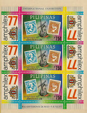 PHILLIPINES :1977 Amphilax 77  miniature sheet SG MS 1432 unmounted mint