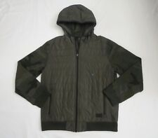 Nwt Abercrombie Mens Camo Sport Quilted/Fleece Sleeve Jacket Size Small