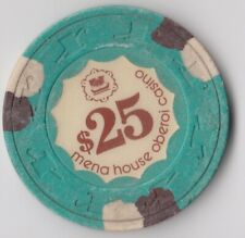 EGYPT 1970 CASINO SHERAZADE MENA HOUSE HOTEL CASINO 25$ CHIP