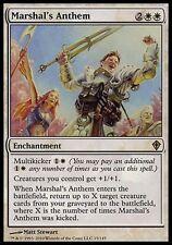 1x Marshal's Anthem Worldwake MtG Magic White Rare 1 x1 Card Cards