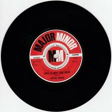 """Peter Holm - This Is Not The Way (7"""", Single) S131"""