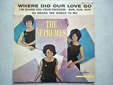 The Supremes 45Tours EP vinyle Where Did Your Love Go