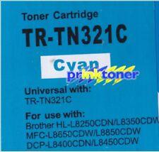 TR-TN321 CYAN TONER COMPATIBLE WITH BROTHER L8250,L8350,L8650,L8850,L8400,L8450