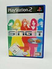 Disney Sing it  PS2 Playstation2 Videogame mit Anleitung